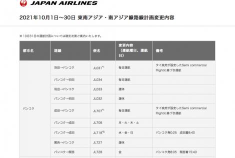 JAL運航計画2