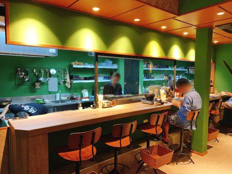闘鶏 店内 カウンター