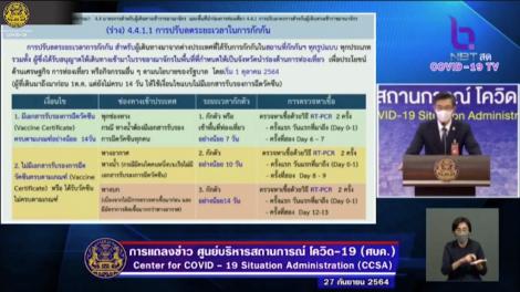 タイ入国条件緩和