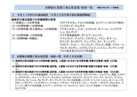 日本入国条件