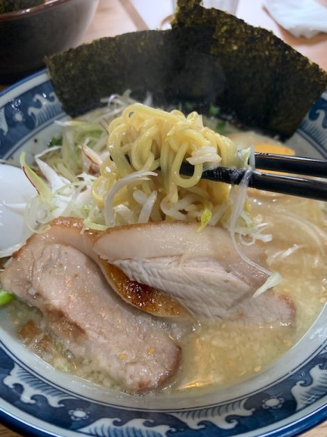 麺屋NARUTO とん塩ラーメン